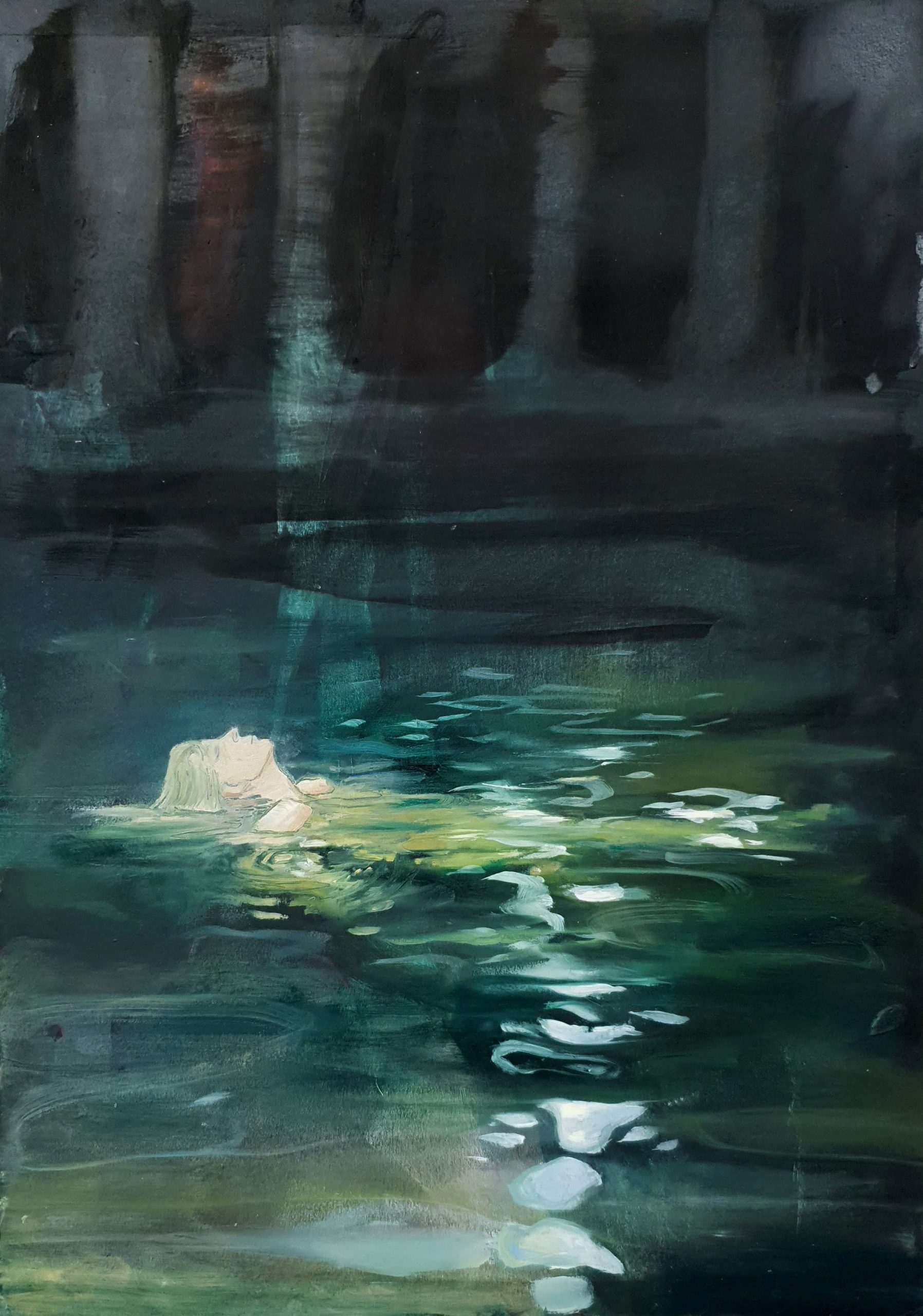 Pond by Sarah Hardy - artist